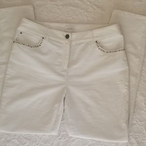 SOLD-White Pants